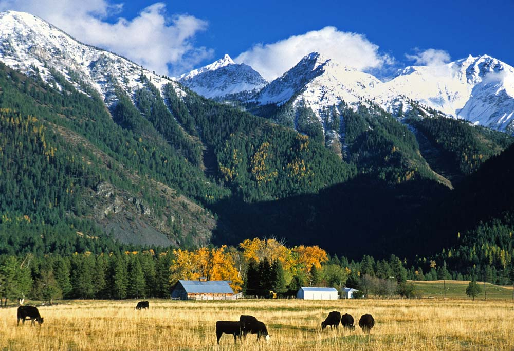 wallowa county mountains